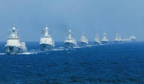 中美军舰在南海再次相撞![图]
