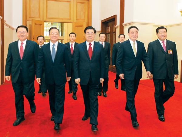 中国政情帮派之争_中国高层的派系之争