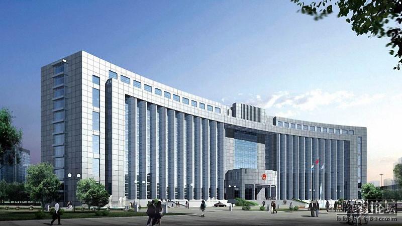 青岛市市北区政府大楼图片