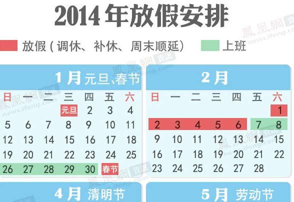 2014年除夕不再是法定节假日-第130期