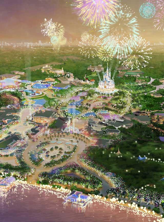 上海迪士尼概念股