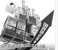 南京国资改革概念股