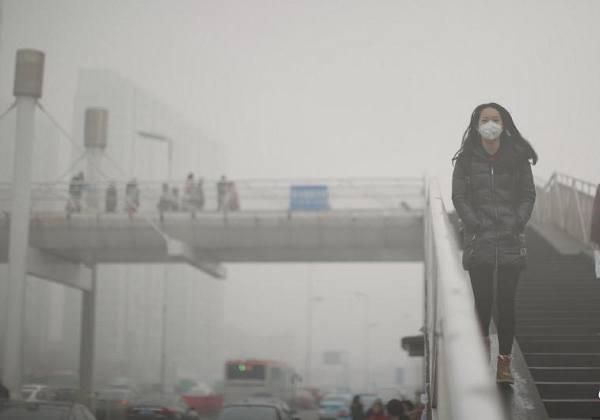 """雾霾卷土重来 京津冀地区进入""""迷城""""模式"""