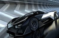 法拉第未来概念电动汽车FFZERO 1