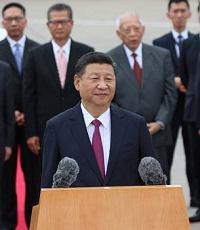 习近平抵达香港 庆祝回归20周年