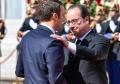 法国举行总统权力交接仪式