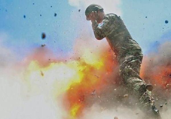 生命最后一刻 战地摄影师记录爆炸瞬间