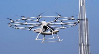 """迪拜又要当""""世界第一"""" 试飞无人驾驶""""飞的"""""""
