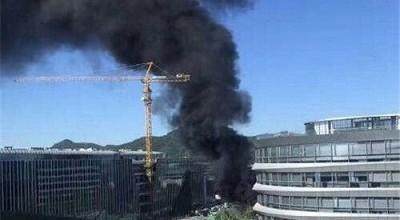腾讯大楼起火 新浪员工第一个先冲上去救火 网友笑炸了!