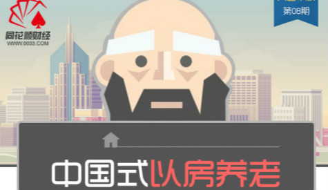 【大画千股】晚年更幸福? 一图看懂中国式以房养老