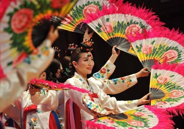 韩国传统歌舞艺术江西南昌上演
