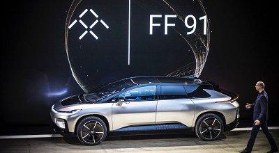 FF91启动整车组装待售 车主称在富豪圈200万元售价很好卖