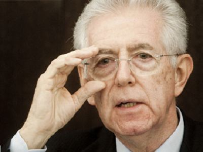 意大利总理蒙蒂:并无计划参加2013年大选