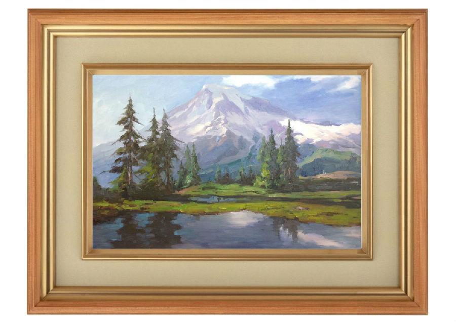 高清图:24张绝美艺术油画 山水田园美不
