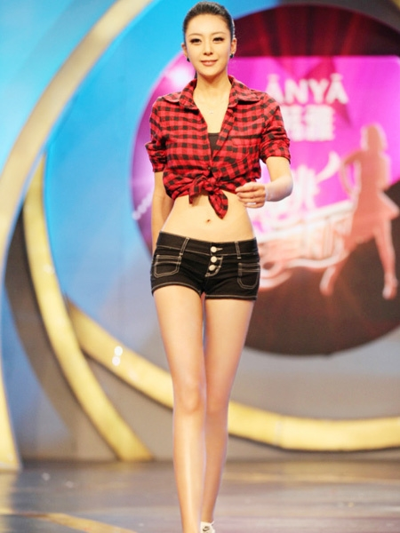 中国第一黄金比例美女