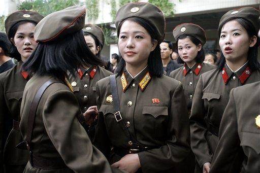 朝鲜居民生活照片