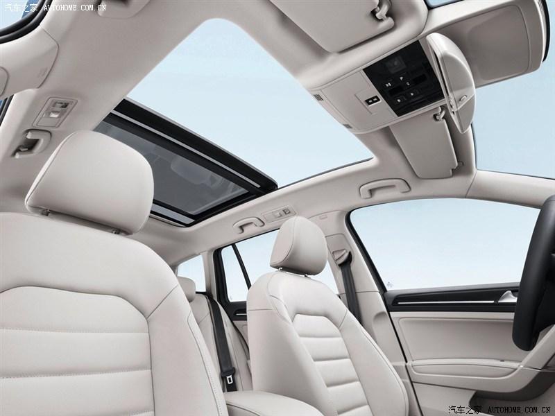 大众(进口),高尔夫(进口),2013款 柴油旅行版,车厢座椅实拍图片高清图片