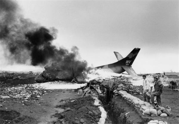 越战中坠毁的飞机