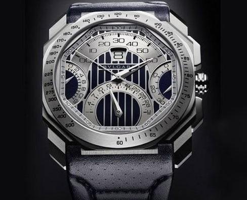宝格丽与玛莎拉蒂推出的新款腕表