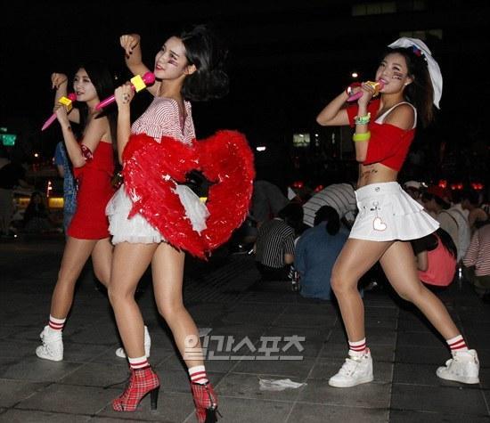 2014韩国可爱舞蹈视频