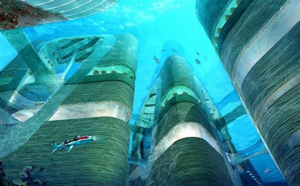 从现在的趋势看,建设海底世界是非常有吸引力的市场.