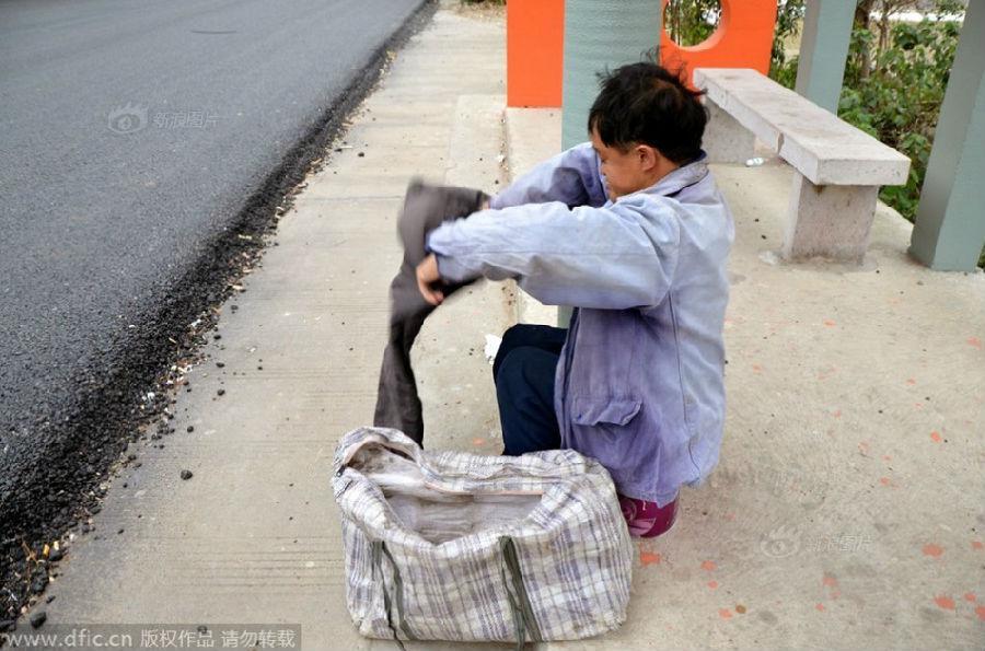 乞丐裤鞋子搭配图片