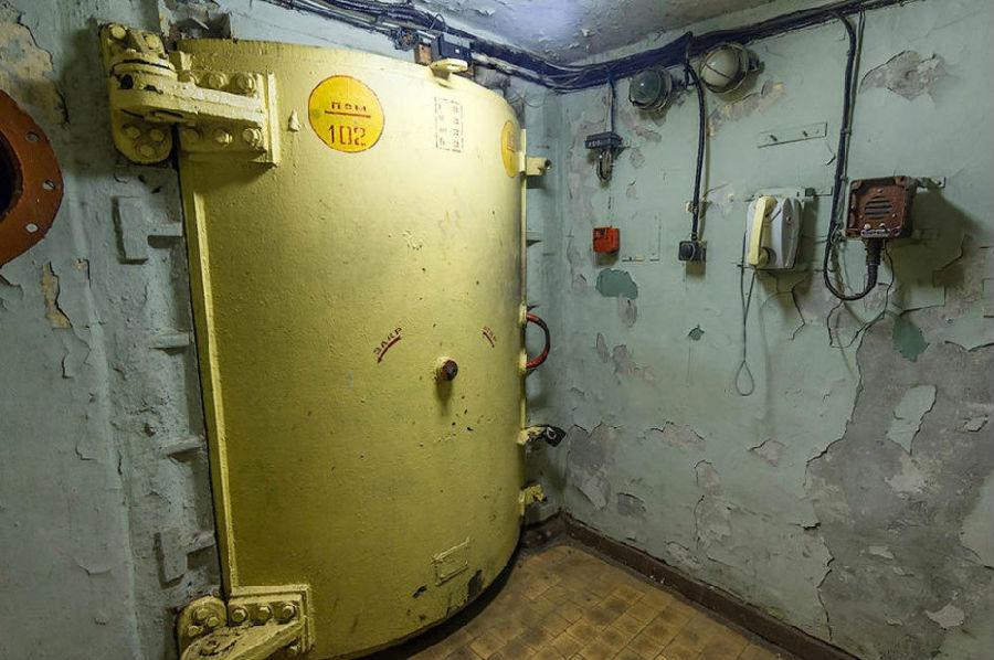 探访前苏联最高机密机构:核战争地下通信中心