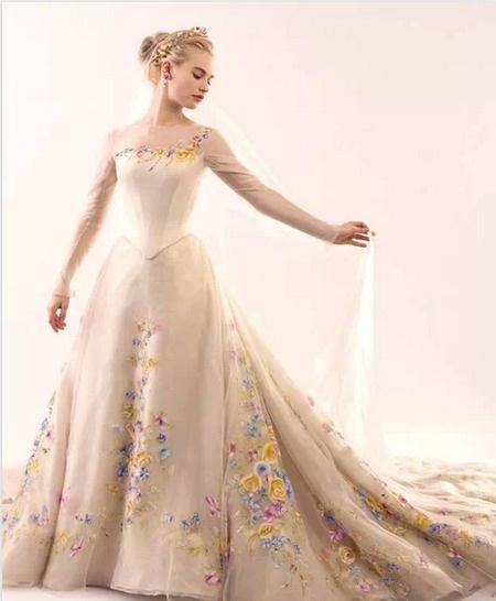 婚纱裙摆ps原图素材