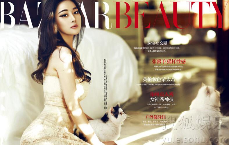 搜狐娱乐讯 近日,张馨予拍摄时尚大片 ,与猫咪一同出镜,演绎猫性女人