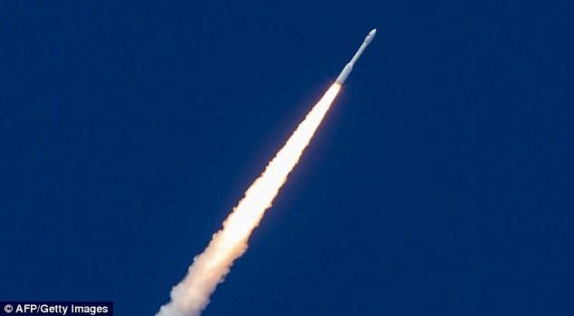 里(340公里)处与火箭分离