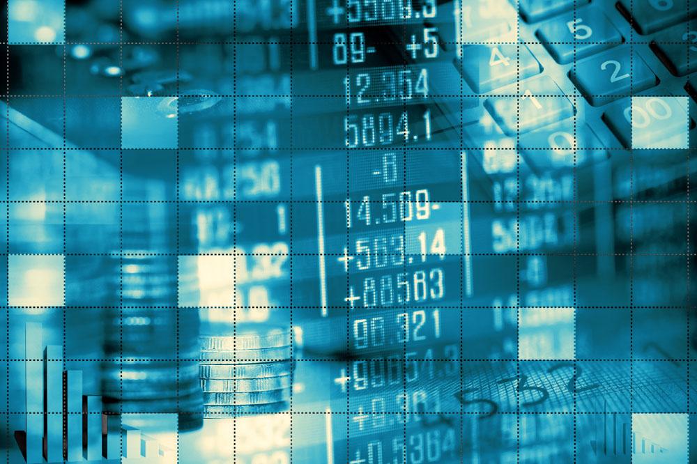 股票背景素材图片