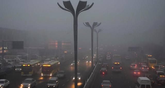 乌鲁木齐连续多日浓雾迷城 空气重污染