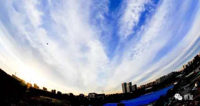 """""""一带一路蓝""""和""""丝路云""""让北京再次惊艳"""