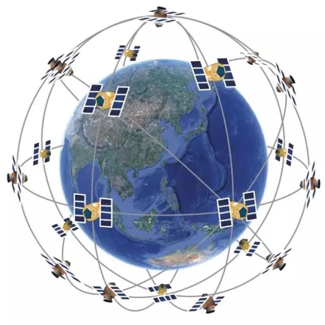 卫星车辆矢量图