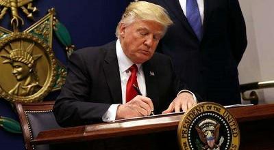 特朗普因政府关门取消派代表团出席达沃斯计划