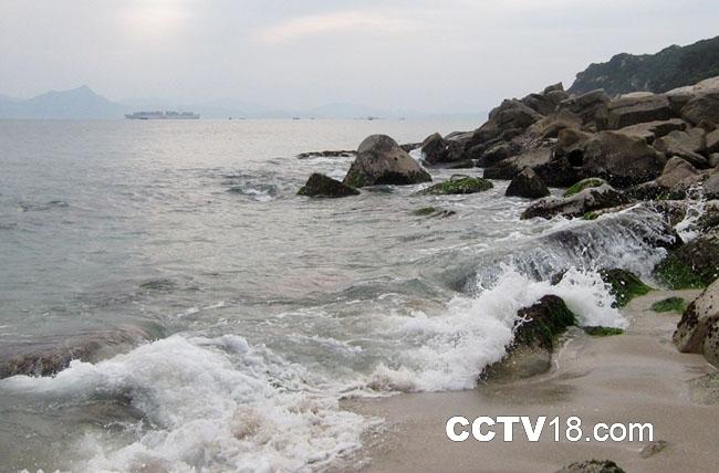 大鹿港是深圳南澳一个人迹罕至的海湾