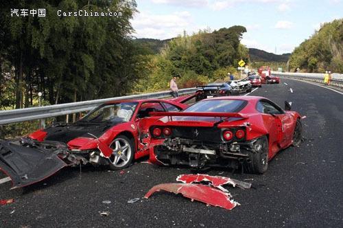 日本最昂的车祸 世界之最高清图片