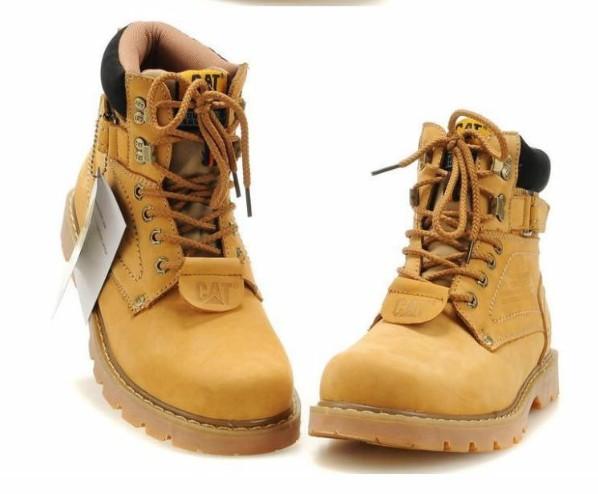帮麦黄色的cat鞋