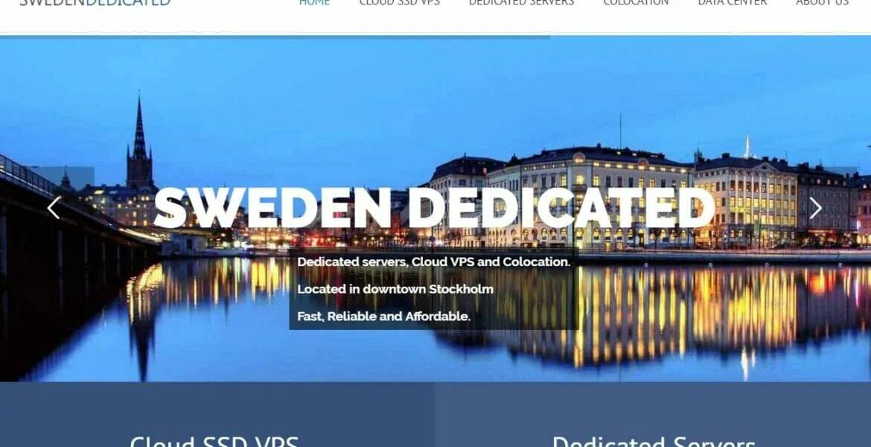 羊毛党之家 欧洲做站-Swedendedicated:瑞典VPS/1核/1G内存/50G HDD/400G流量/1G端口/LXC/月付€2.50/电信联通绕美/