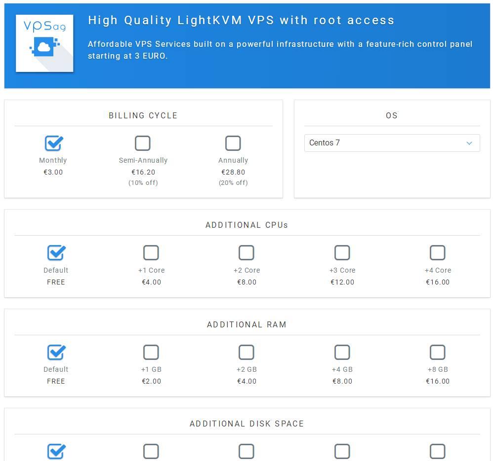 羊毛党之家 便宜但是绕-VPSAG:€3/月/2GB内存/20GB SSD空间/3TB流量/1Gbps/KVM/保加利亚 https://yangmaodang.org